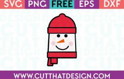 Free SVG Files Snowman Square Head