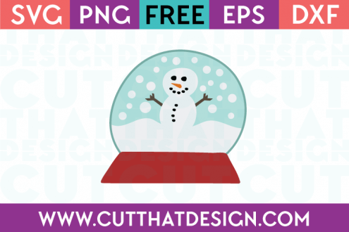 Free SVG Files Free Snowman and Snow Globe