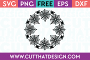 Free SVG Cutting Files Spider Web Circle Frame