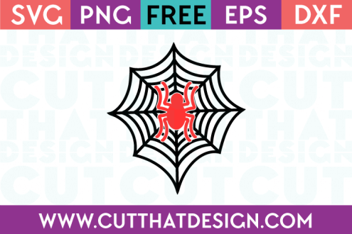 Free SVG Files Spider and Web