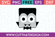 Free SVG Files Dracula Square Head Design