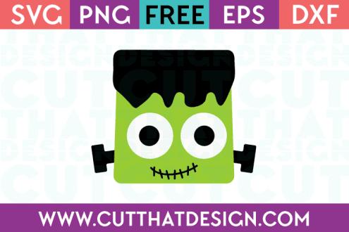 Frankenstein Free SVG