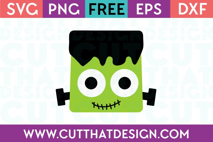 Free SVG Files Frankenstein Head
