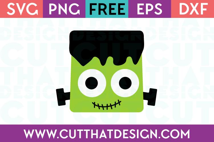 Free SVG Files Frankenstein Head