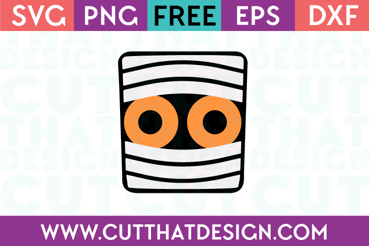 Free SVG Files Free Mummy Head
