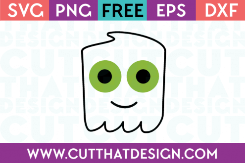 Ghost SVG Free Cutting File