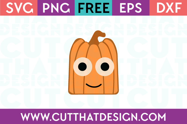 Free SVG Files Pumpkin Square Head