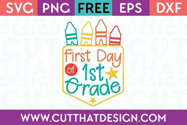 First Grade SVG Free