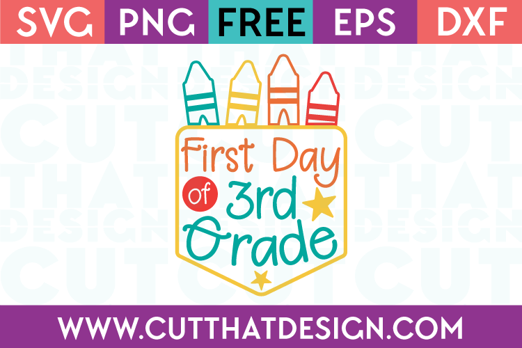 First Day Free SVG