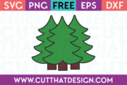 Free Christmas Trees SVG