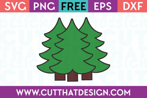 Free Christmas Trees SVG