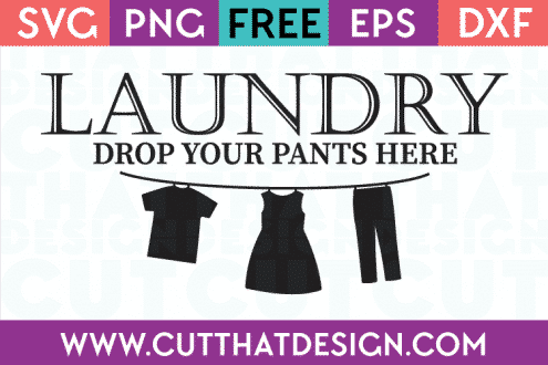 Laundry Free SVG Cut Files