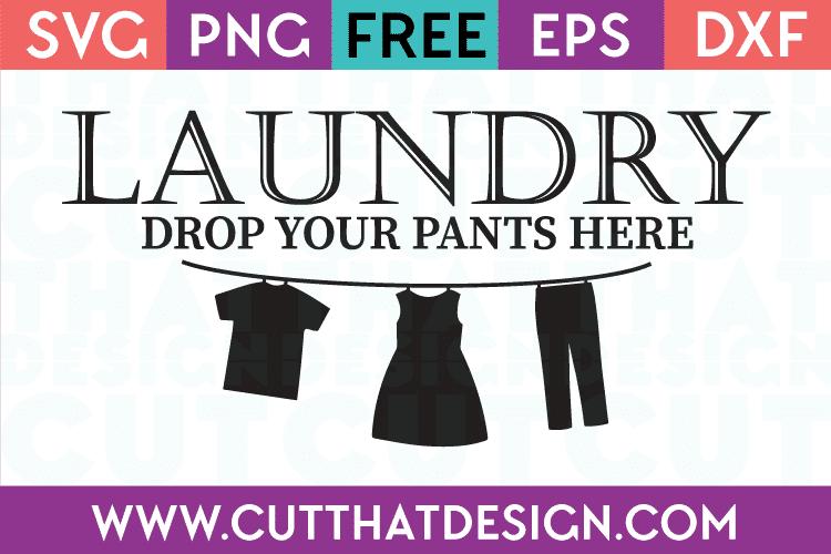 Laundry Free SVG Cut Files