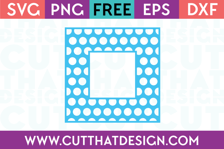 Free Square Frame SVG Cutting Files