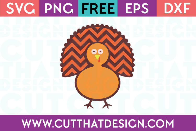 Free SVG Thanksgiving Turkey