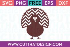 Free Turkey Design SVG Cut