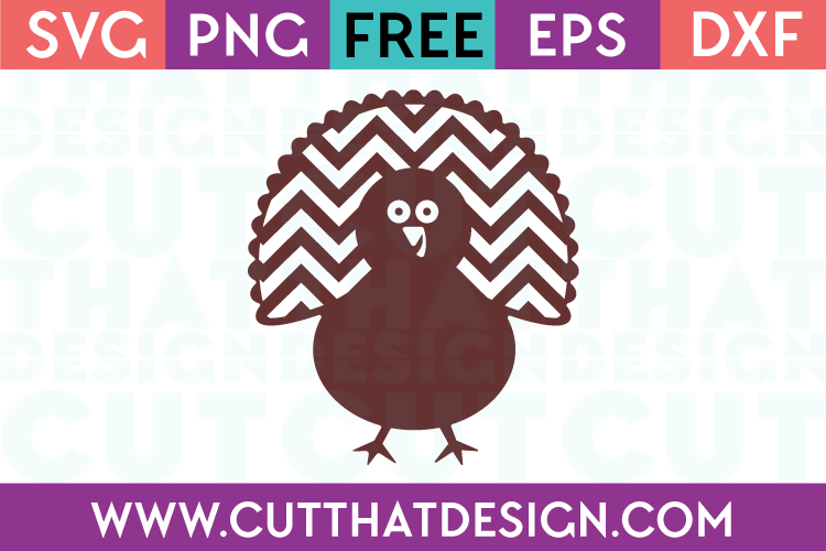 Free SVG Files Turkey Design