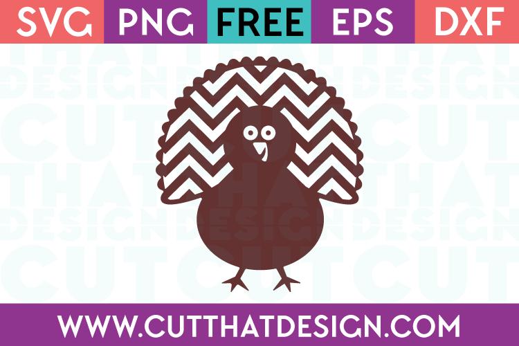Free SVG Files Turkey Design