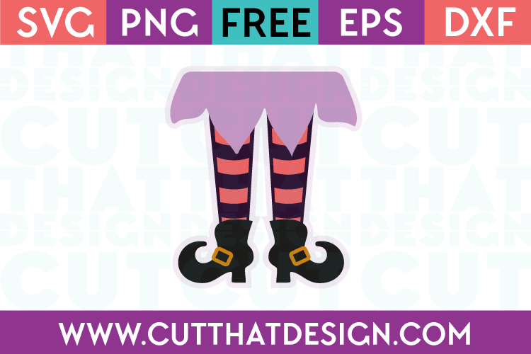 Free SVG Files Witches Legs
