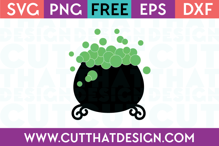 Free SVG Files Witches Cauldron
