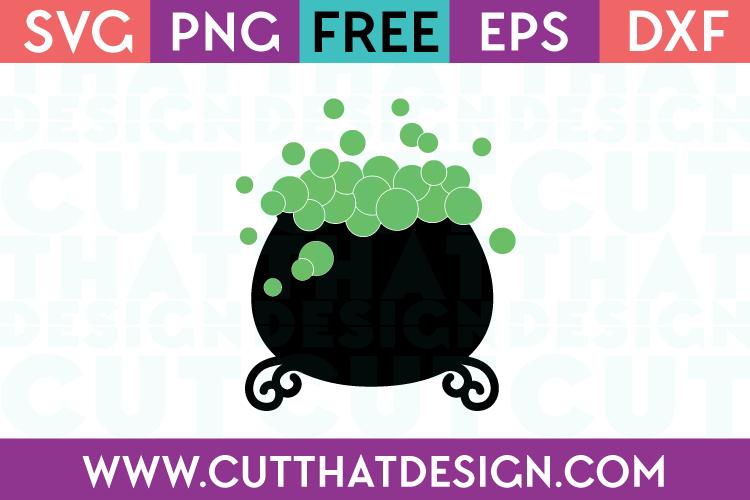 Free SVG Files Witches Cauldron