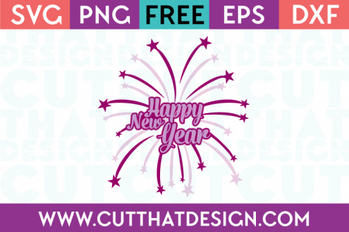 Free SVG Happy New Year