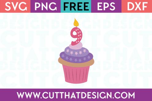 Free SVG Files Cupcake 9