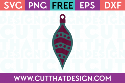 Free SVG Christmas Decoration