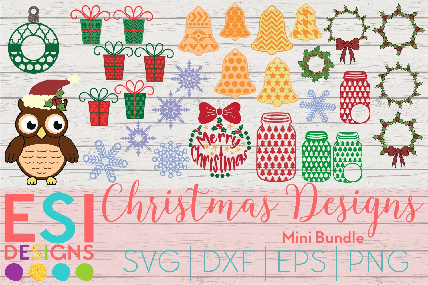 Christmas svg cutting files