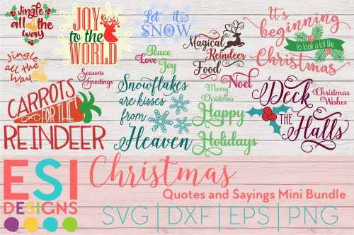 Christmas quotes svg