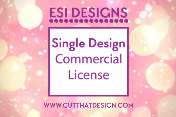 Cut that design svg commercial license