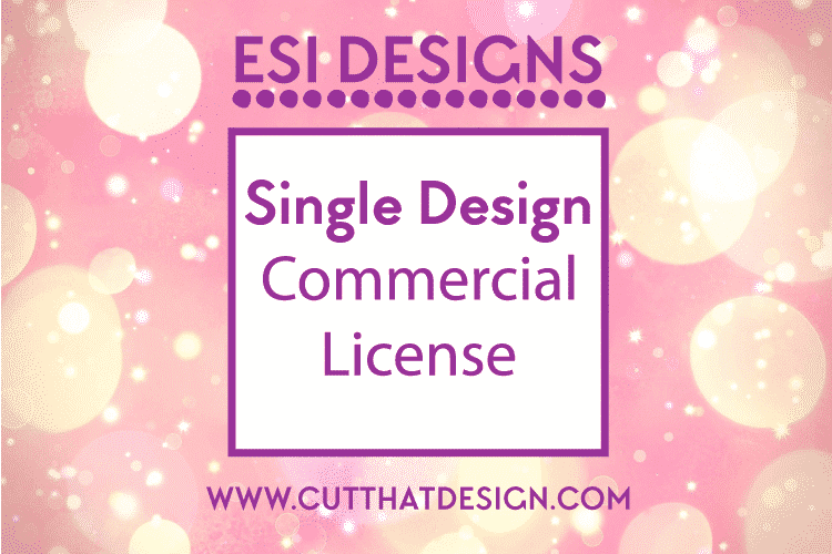Cut that design svg commercial license