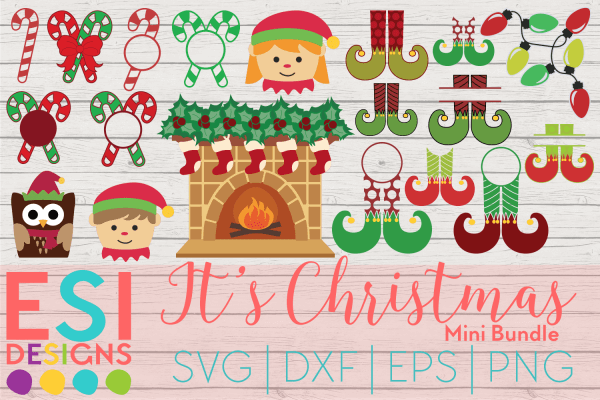 elf christmas svg