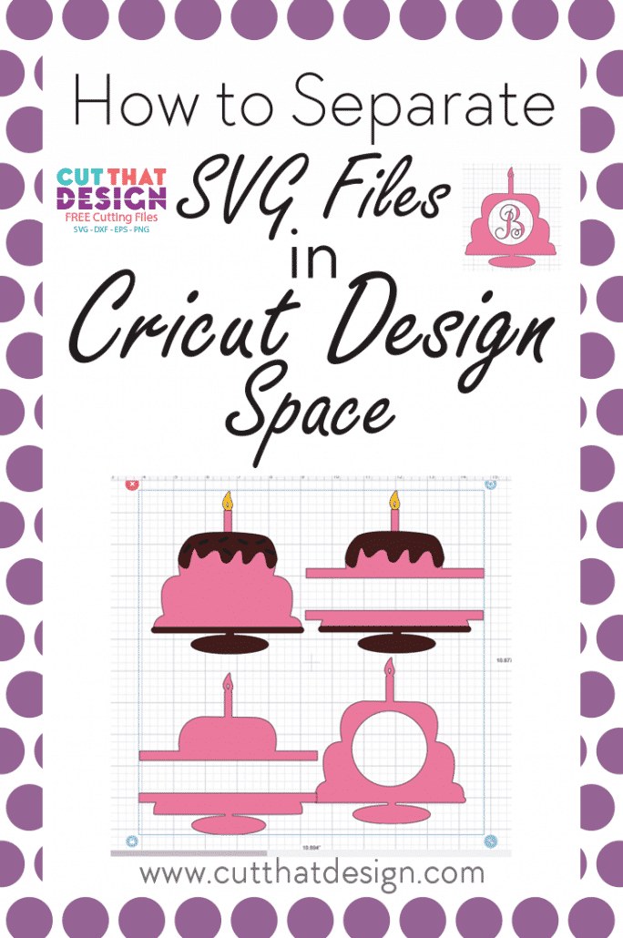 How to Separate More than one Design in an SVG file in Cricut Design Space.