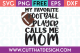 Free SVG Files My Favourite Football Player Calls me Mom