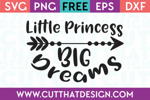 Little Princess Free SVG Cut File