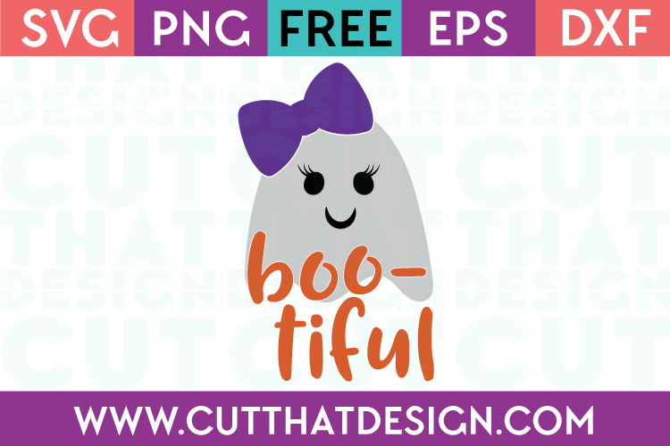 Free SVG Files Boo-Tiful