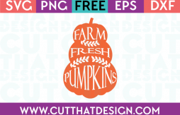 Free SVG Files Farm Fresh Pumpkins