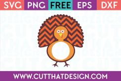 Free Turkey Monogram SVG