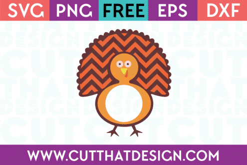 Free Turkey Monogram SVG