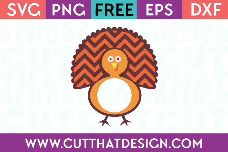 Free SVG Files Turkey Monogram