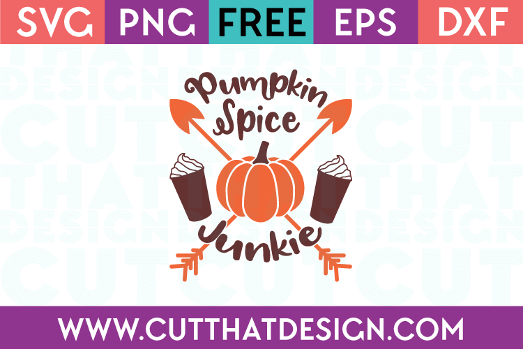 Pumpkin Spice Junkie Phrase