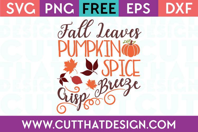 Free Fall SVG Files