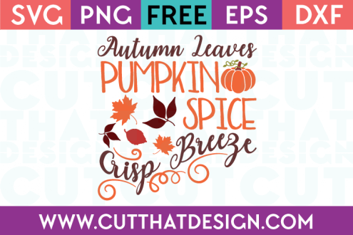Free Autumn SVG