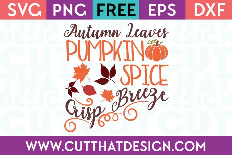 Free Autumn SVG