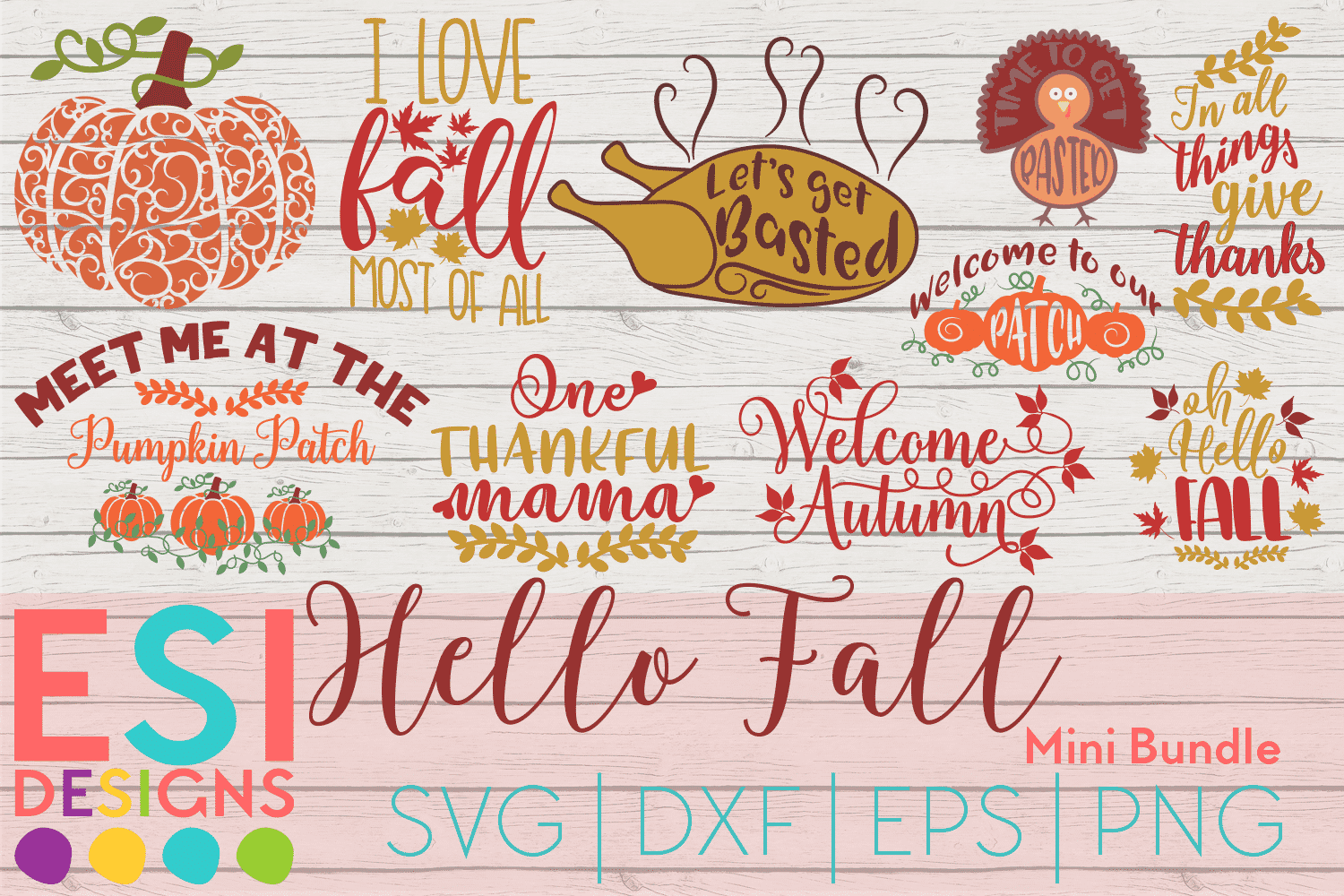 fall svg bundle