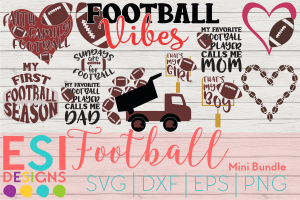 Football svg cut file