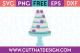 Free SVG Files Wedding Cake with Rose