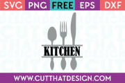 Free SVG Files Kitchen Utensils