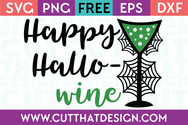 Free SVG Files Happy Hallo-Wine